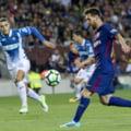 Barcelona a facut spectacol cu Espanyol, in derbiul Cataluniei. Messi, din nou sclipitor