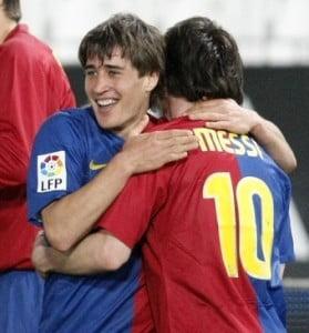 Barcelona a invins Almeria in 3 minute (Video)