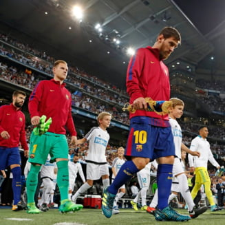 Barcelona a umilit Real Madrid in El Clasico