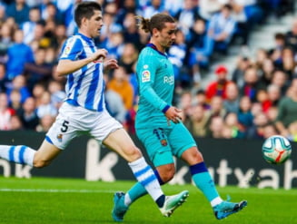 Barcelona calca stramb in Primera Division