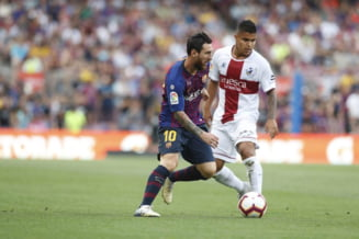 Barcelona castiga acasa cu Huesca dupa ce a fost condusa. S-au marcat 10 goluri pe Camp Nou