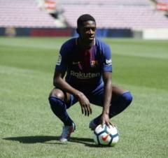 Barcelona economiseste o suma uriasa dupa accidentarea lui Dembele