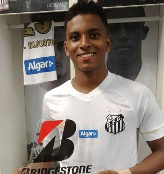 """Barcelona l-a descoperit pe """"noul Neymar"""": Iata cat costa """"perla"""" celor de la Santos"""