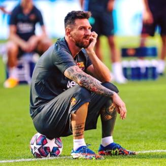 """Barcelona nu a mai primit opt goluri din 1946. Pique: """"Este o rusine, este foarte dur. Sunt primul care pleaca"""""""