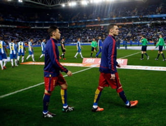 Barcelona pierde cu Espanyol pentru prima data in 9 ani