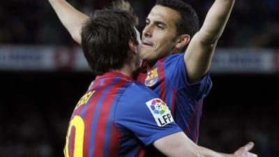 Barcelona s-a distrat cu Getafe (Video)
