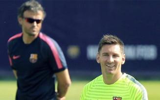 Barcelona schimba antrenorul dupa conflictul cu Messi: Cine vine in locul lui Luis Enrique