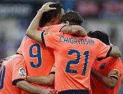 Barcelona si Real Madrid merg cap la cap din primele etape
