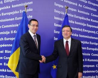 Barroso il atentioneaza din nou pe Ponta (Video)