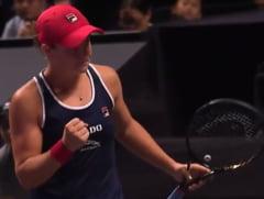 Barty o invinge pe Kvitova si se califica in semifinalele Turneului Campioanelor