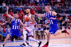 """Baschetbalistii Craiovei, la un pas de surpriza pe terenul campioanei / Todorov: """"Timp de 30 de minute, am fost echipa mai buna"""""""