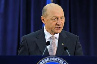 Basescu: Am initiat un nou referendum - Parlament unicameral cu 300 de membri