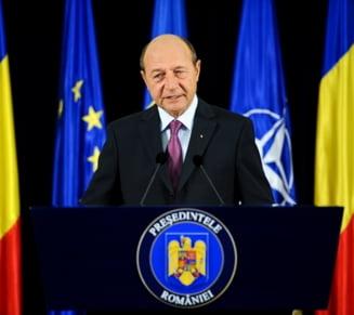Basescu: Am sa ma bat si 10 ani pentru apararea mandatelor mele