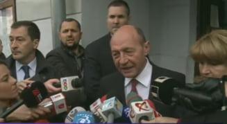 Basescu: Am votat cu gandul la o majoritate care sa nu incerce sa puna justitia sub control politic