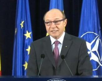 Basescu: Arhiva Dunarea va fi desecretizata. Arhivele Crescent nu sunt in Romania (Video)