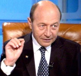 Basescu: Bancile dau dovada de obraznicia celor care au dezechilibrat bugetul
