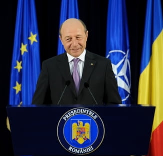 Basescu: Cei care semneaza proiectul privind Portul Constanta vor raspunde in fata legii