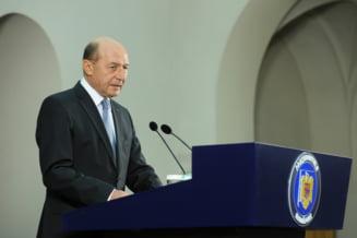 Basescu: Contrazic afirmatiile nefericite potrivit carora coruptia in Romania e sistemica, endemica