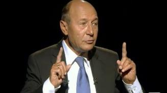 Basescu: Crin si Ponta nu sunt buni de presedinte - Admir PSD, iar acolo exista oameni mai calificati (Video)
