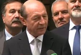 Basescu: DNA, SRI si Ambasada SUA au vrut sa curete clasa politica. Azi vedem daca asta e solutia