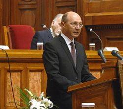Basescu: Declaratiile lui Geoana sunt regretabile
