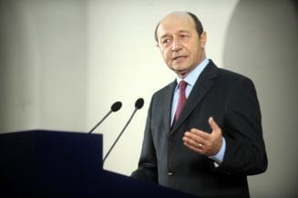 Basescu: Demisionez odata cu parlamentarii. Ponta nu a incalcat protocolul