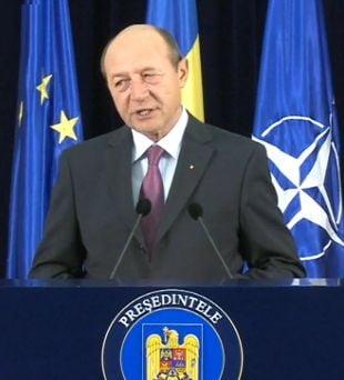 Basescu: Documentele prezentate de SRS vin de la o firma prin care Vintu spala bani