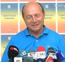 Basescu: Domnule Rus, de aici din garaj, te mai presez o data!
