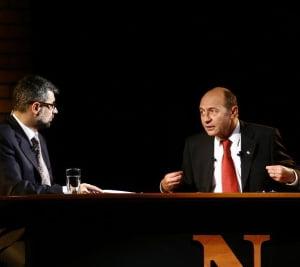 """Basescu: Geoana pregateste schimbarea lui Kovesi pentru a opri """"Dosarul FNI"""""""