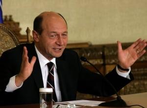 Basescu: Grupul neocomunist din PSD a facut din Geoana o papusa cu care se joaca