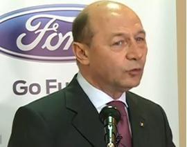 Basescu: Guvernele nu si-au respectat integral angajamentele fata de Ford (Video)