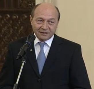 Basescu: Iliescu, Ponta si Antonescu au acelasi mesaj ca si Voronin