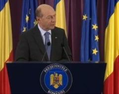 Basescu: Imi asum eroarea pe coduri. Daca Ponta nu corecteaza, e scut pentru corupti