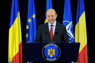 Basescu: Imi exprim convingerea ca referendumul din Scotia va revalida unitatea Regatului Unit (Video)