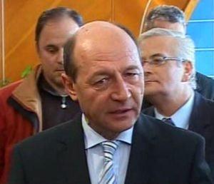 Basescu: In supermarket, 85% din produse sunt romanesti
