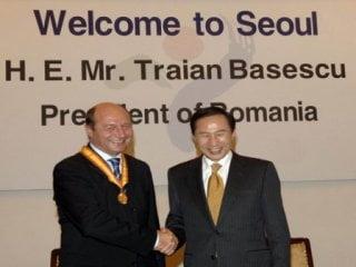 Basescu: Investitia Ford la Craiova a fost posibila dupa vizita in Coreea