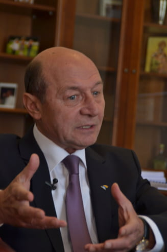 Basescu: Iohannis stie sa faca socotelile. Premierul trebuie dat liberalilor