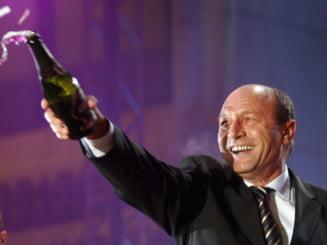 Basescu: Mosul mi-a adus un an perfect, romanilor sa le aduca tarie