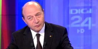 Basescu: N-am nevoie sa ma pregatesc pentru functia de premier, Ponta stie ca sunt mai bun ca el (Video)