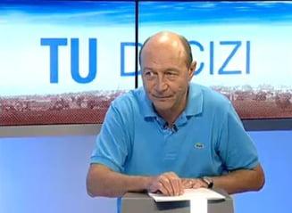 Basescu: Nastase e o lectie pentru toti. A primit doi ani - enorm dupa mine