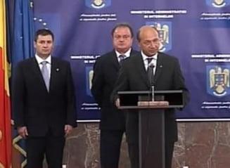 Basescu: Nu am glumit, vreau raport despre ce s-a intamplat pe 24 septembrie