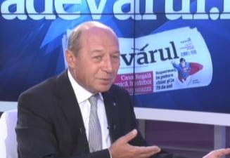 Basescu: Nu am nicio problema sa declansez un referendum pentru Rosia Montana (Video)