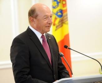 Basescu: Nu am niciun gand sa candidez la presedintia R.Moldova