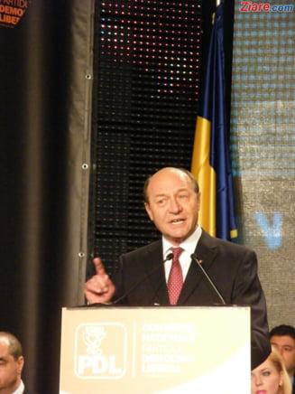 Basescu: Nu aveti decat o solutie: continuati! - vezi ce i-a adus lacrimi in ochi