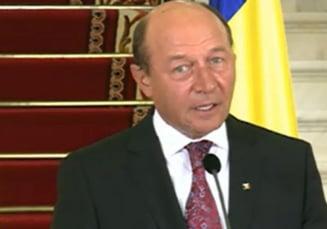 Basescu: Nu ii voi mai pune niciodata lui Ponta in mana un mandat de premier (Video)