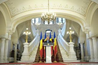 Basescu: Nu ma voi ascunde sub birou de frica sa nu fiu suspendat