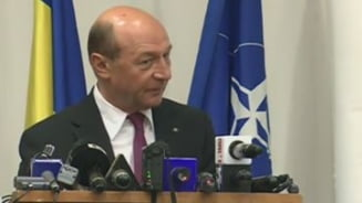 Basescu: Nu poti neglija la nesfarsit cheltuieleile pentru aparare. Poate fi prea tarziu