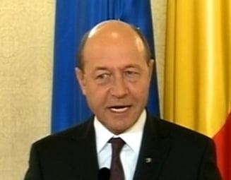 Basescu: Nu vreau aurul de la Rosia Montana, vreau locuri de munca
