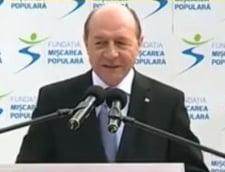 Basescu: Nu vreau sa fiu un inchipuit care sa se faca ca nu a fost presedintele Romaniei 10 ani