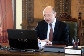 Basescu: O simpla scrisoare in care sa cerem sa intram in Schengen nu ne ajuta (Video)